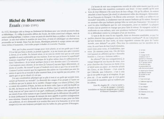 Dissertation francais 1ere argumentation